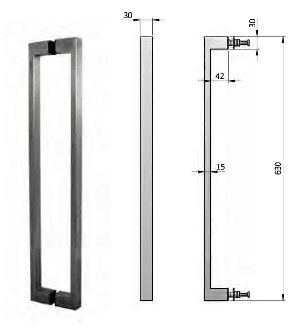 Matte Black Cabinet Hardware
