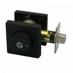 Matte Black Square 005 Paradigm Lock