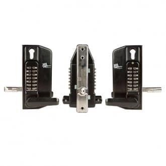 Digital Gate Lock – keypad both sides