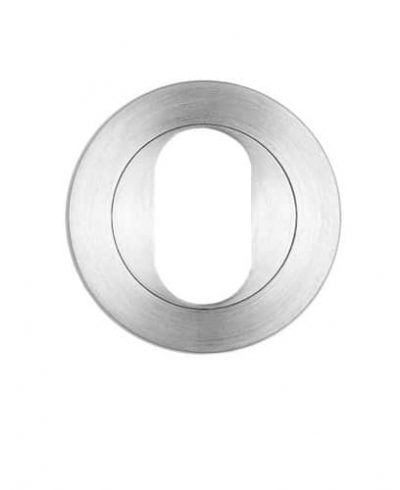 Escutcheon | Oval | Round | Chrome Plated (Each)