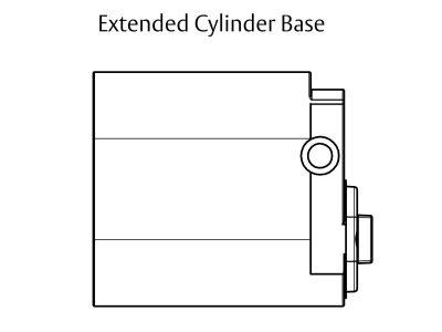 Lockwood C4 570E Extendable Base Cylinder With U Cam