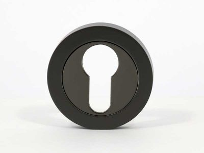 Escutcheon – Euro – Round – Gunmetal (Each)