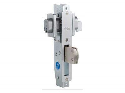 Fabricator Lock - Throw Bolt - Satin Chrome