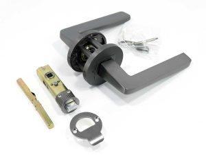 Steve lever handle in gunmetal