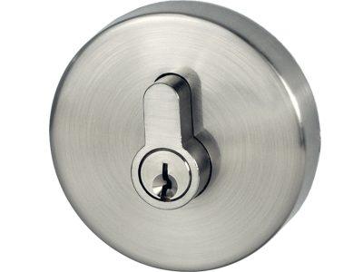 Lonsdale Eurobolt – Double Cylinder – Round – Brushed Nickel