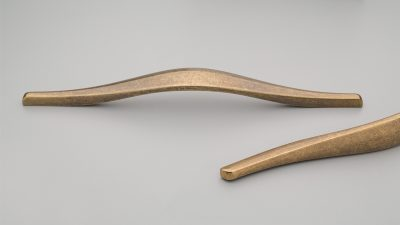 Hamm Handle 320mm C to C 330mm O/A Antique Brass