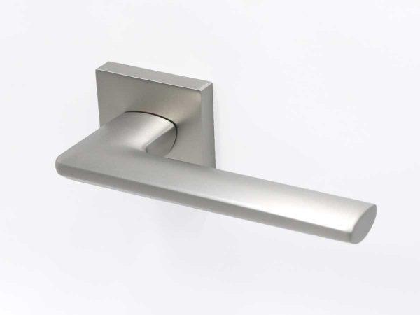 Zara - Square - Matte Brushed Nickel