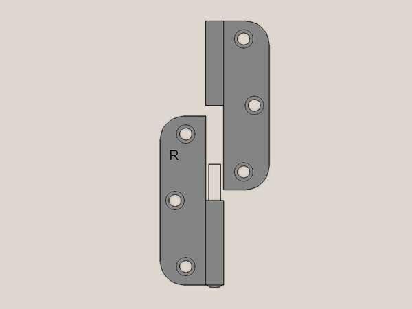 Lift off radius gunmetal