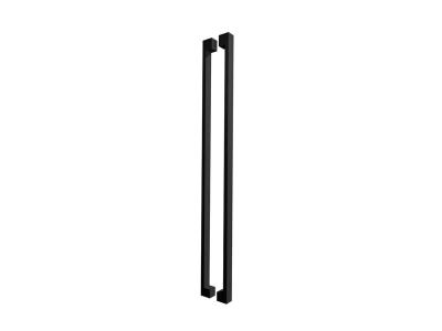 Pull Handle Set | 1200mm | Matte Black