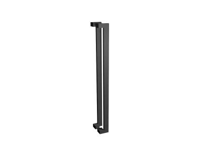 Pull Handle Set | 1200mm | Offset | Matte Black