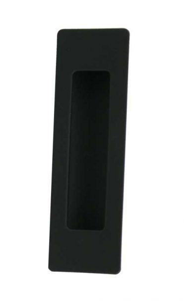 Matte Black Flush Pull