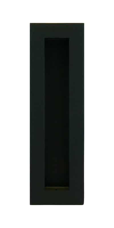 Matte Black – medium flush pull (each)