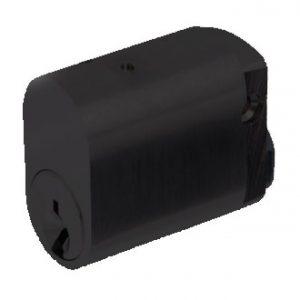 Matte Black Oval cylinder