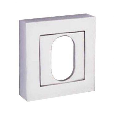 Escutcheon - Oval - Square - Chrome Plated (Each)