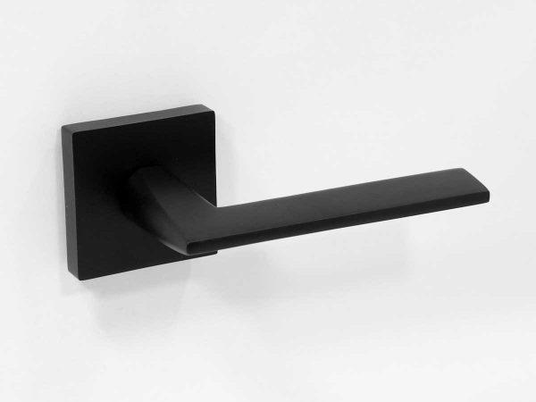 black square door handle